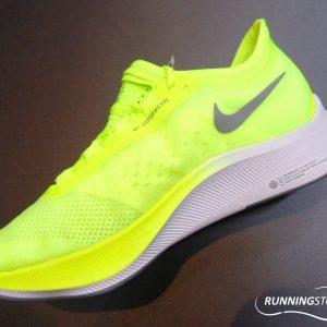 Nike Zoom Fly 3 - Volt/ Smoke Grey/ White AT8240-700