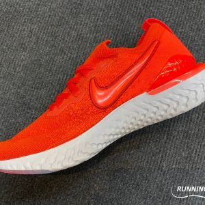 Nike Epic React Flyknit - Chile Red/Vast Grey/Black/Bright Crimson - BQ8928-601