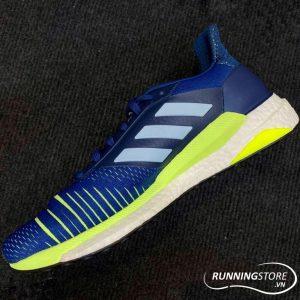 giày chạy bộ ADIDAS SOLAR GLIDE – LEGEND MARINE / ASH GREY / HI-RES YELLOW – D97436