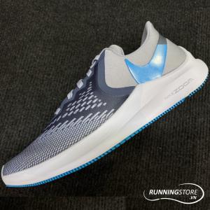Nike Air Zoom Winflow 6 - Obsidian Minst / Blue Lagoon / Half Blue - AQ7497-400