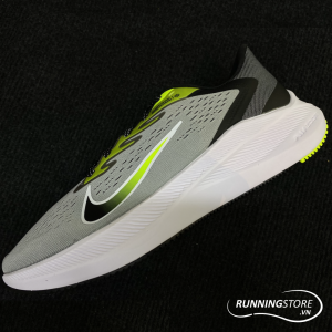 Nike Air Zoom Winflow 7 - Light Smoke Grey/Volt/White/Black - CJ0291-002