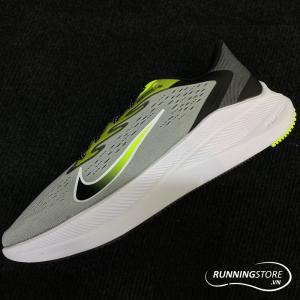 Nike Air Zoom Winflow 7 - Light Smoke Grey/Volt/White/Black - CJ0291-002
