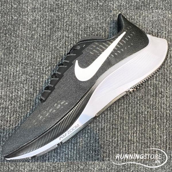 Nike Air Zoom Pegasus 37- Black/ White BQ9646-002