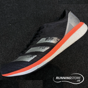 Adidas Adizero Boston 8 Wide - Black / Orange / White - EE4991