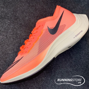 Nike ZoomX Vaporfly Next% - Bright Mango/Citron Pulse/Black - AO4568-800
