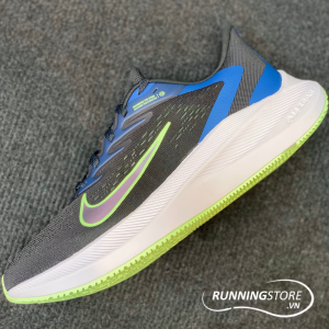 Nike Air Zoom Winflo 7 - Black / Vapor Green / White - CJ0291-004