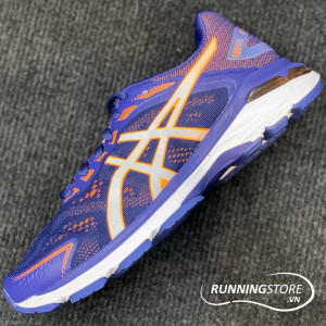 Asics GT-2000 7 Wide - Indigo Blue/Shocking Orange - 1011A159-400
