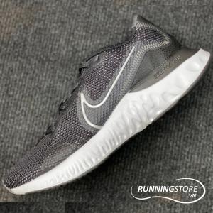 Nike Renew Run - Black/ Metallic Sliver-White Noir/ Blanc - CK6357-002