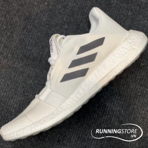 Adidas Senseboost Go - Cloud White / Grey Six / Chalk White - EG0959